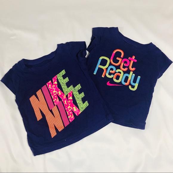 6eb72fb8e Nike Shirts & Tops | Bundle Baby Girls Tshirts | Poshmark